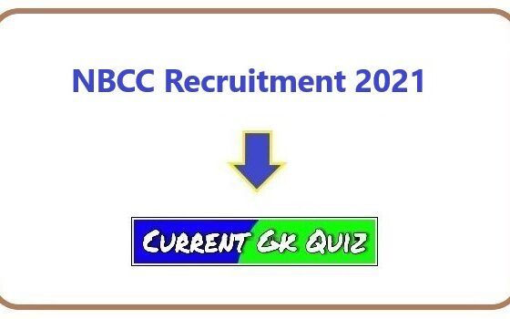 NBCC Recruitment 2021