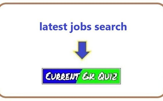latest jobs search