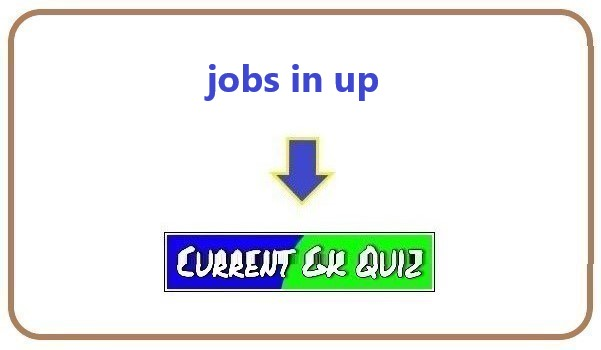 jobs in up