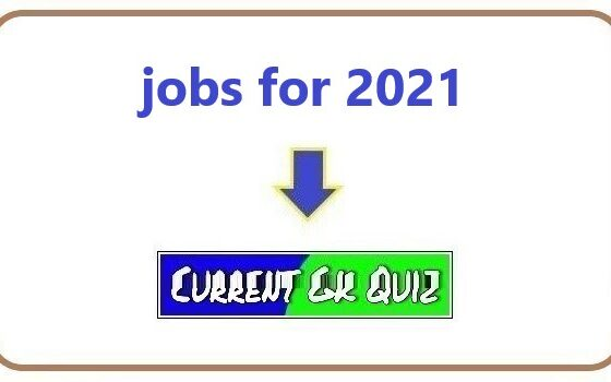jobs for 2021