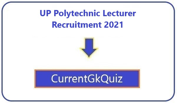 UP Polytechnic Lecturer Recruitment 2021